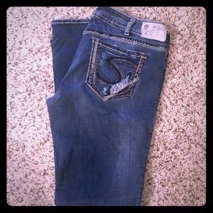 Great condition women's Silver jeans size W34x33L